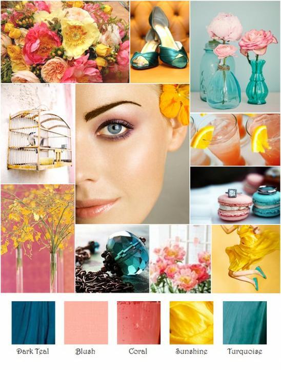 Wedding colour ideas... - Obrázek č. 16