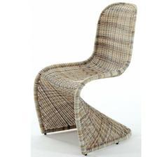 Na menší terásky tahle luxusní židle, kdyby tak byla v umělém ratanu! Jinak je na ni akce v KIKA