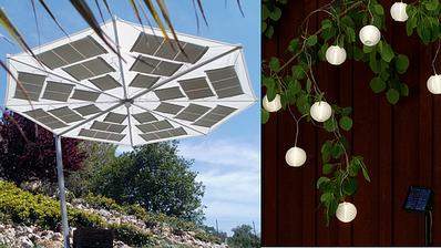 Solární lampionky na třešeň