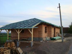 Laťování střechy