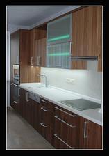 Tak takhle nějak bude vypadat naše kuchyňka (myslím odstín)