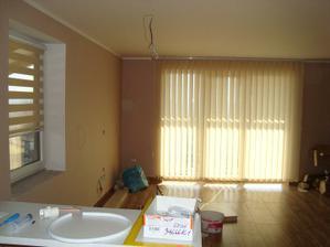 Pohled od obýváku z kuchyně