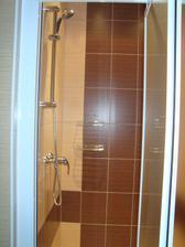 Sprcha je komplet