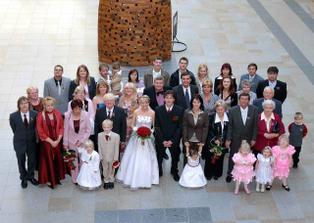 Naši svatebčané!Všem patří velký dík!