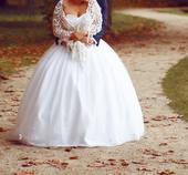 svadobne šaty 40-42-44,postovne v cene, 42