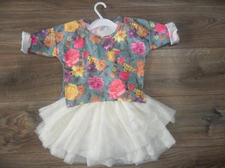 romantický komplet, šaty 98-104 - Obrázok č. 1