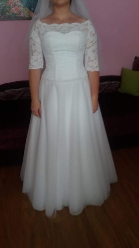 Svadobné šaty 38-42 - Obrázok č. 1