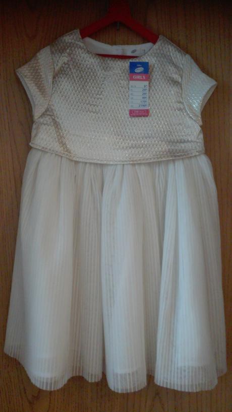 Slávnostné šaty 116 s visačkou - Obrázok č. 1
