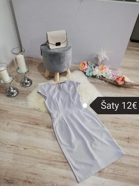 Spoločenské šaty 36 - Obrázok č. 1