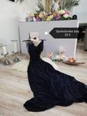 Tmavomodre šaty S, S