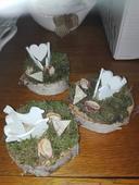 Svadobný aranžmán s holubicami 3 ks,