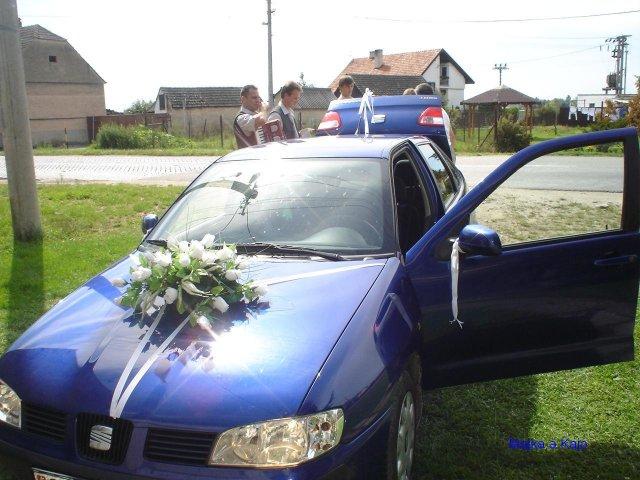 Majka{{_AND_}}Kajo - naše svadobné autíčko