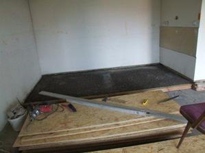 Podklad na podlahu v kuchyni