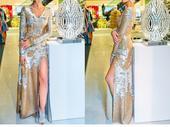Prekrásne flitrove šaty, 36