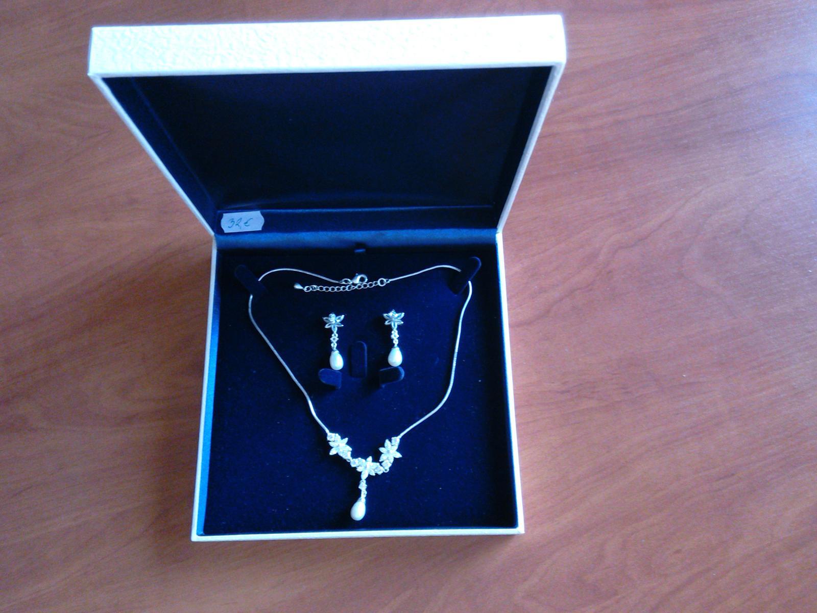 svadobný set - náhrdelník a náušnice - Obrázok č. 1