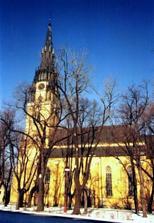 najvyššia kostolná veža na Slovensku 87m