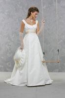moje svatební šaty - jsou krásné