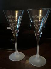naše poháre... už  sú doma a vytešujem sa z nich :-)
