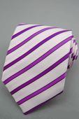 Pánská kravata - fialová.,
