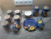 Sada keramiky slunecnic,
