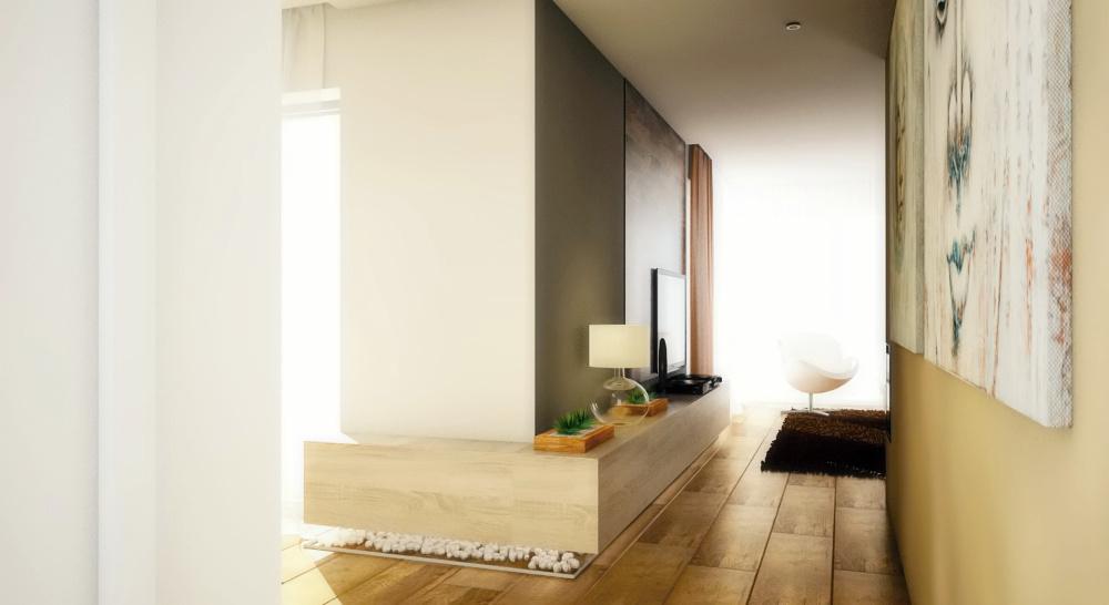 Navrhy interieru - Chodba