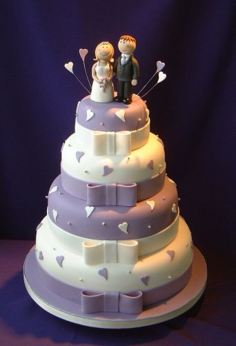 Moja fialova svadba - ...roztomilé...