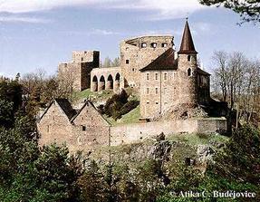 hrad Velhartice poblíž Klatov