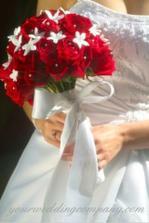 Krásna svadobná kytica