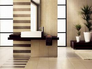 barevné provedení koupelny