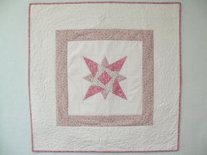 nástenný quilt