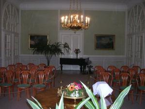 tak tady to bude... na zámku v Ratibořicích:-)