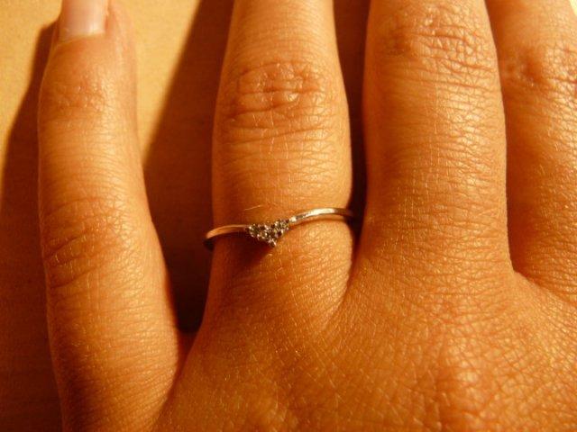 Zásnubní prstýnek - detail