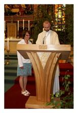 moje svědkyně Katka zvládla čtení z Bible naprosto skvěle. Děkujeme