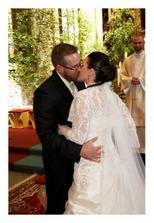 první manželský polibek... a je to v kapse!