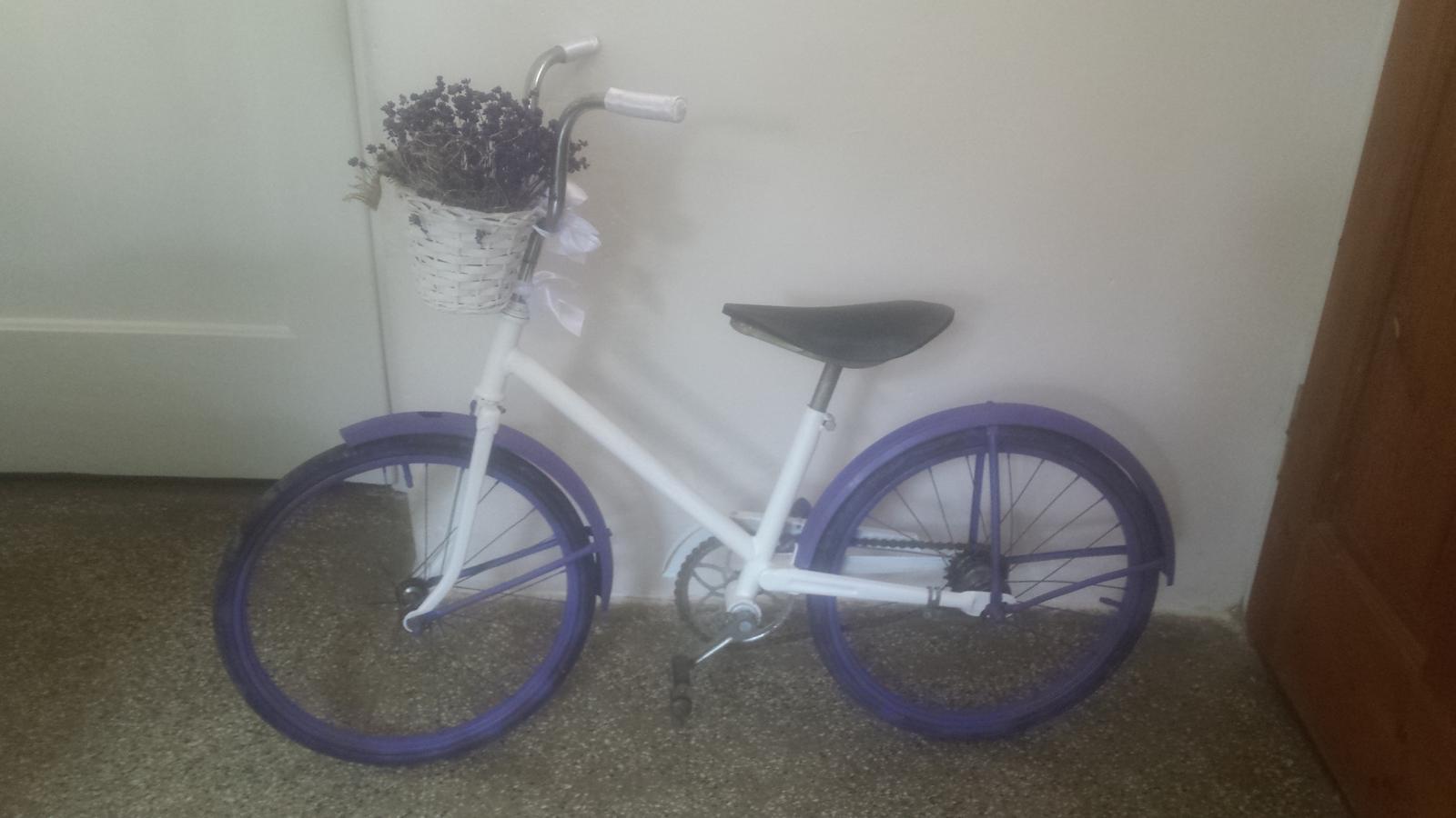 Pomaly zbierame ☺ - Vysoko romantikuš bicykel je hotový. ☺