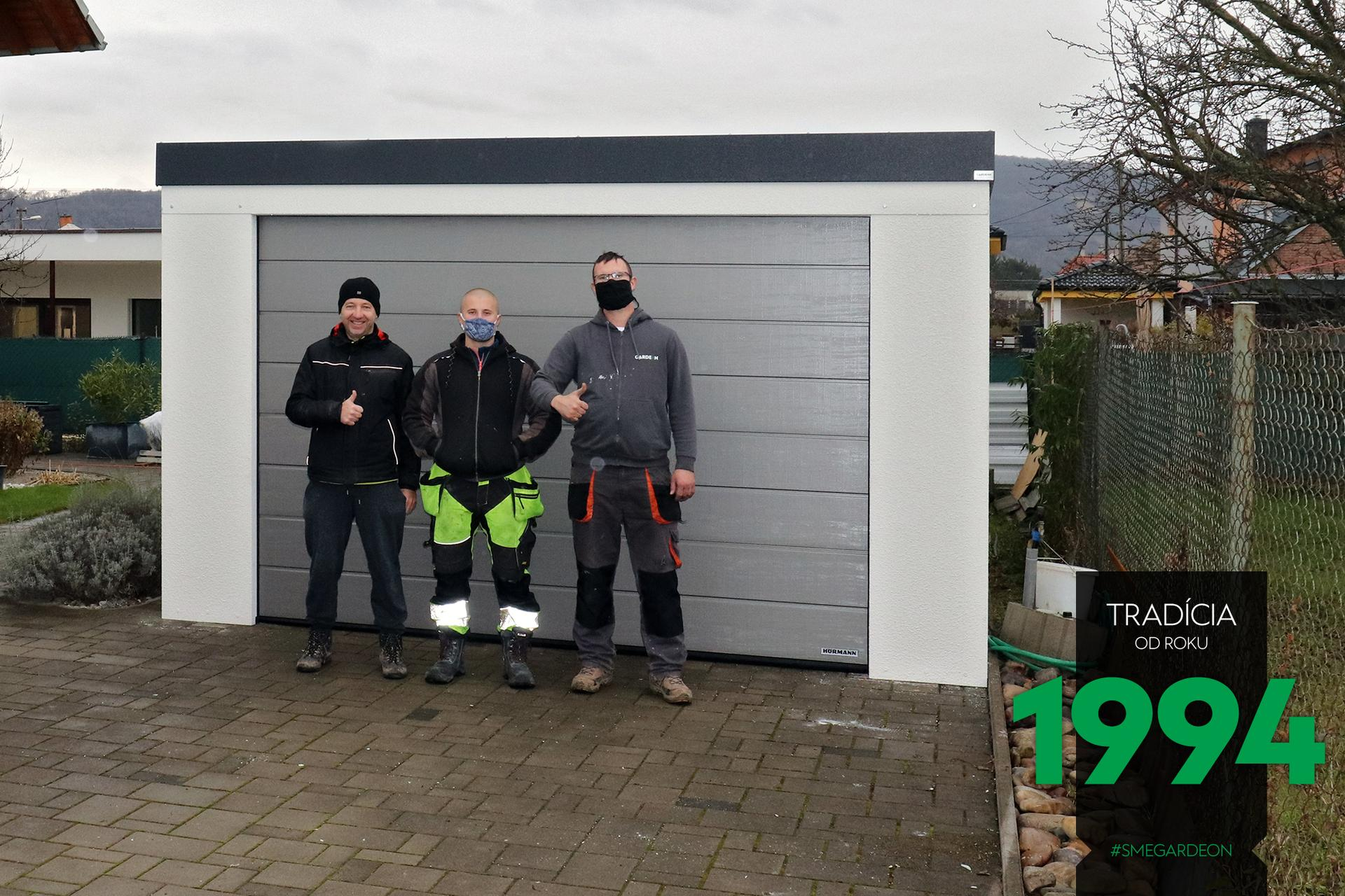 Montované garáže GARDEON - Obrázok č. 710