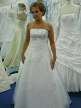 svatební šaty - zkouška