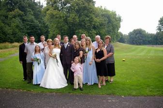 naši svatební hosté