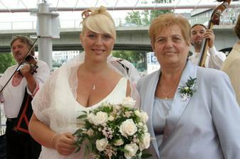 ja a moja mamicka