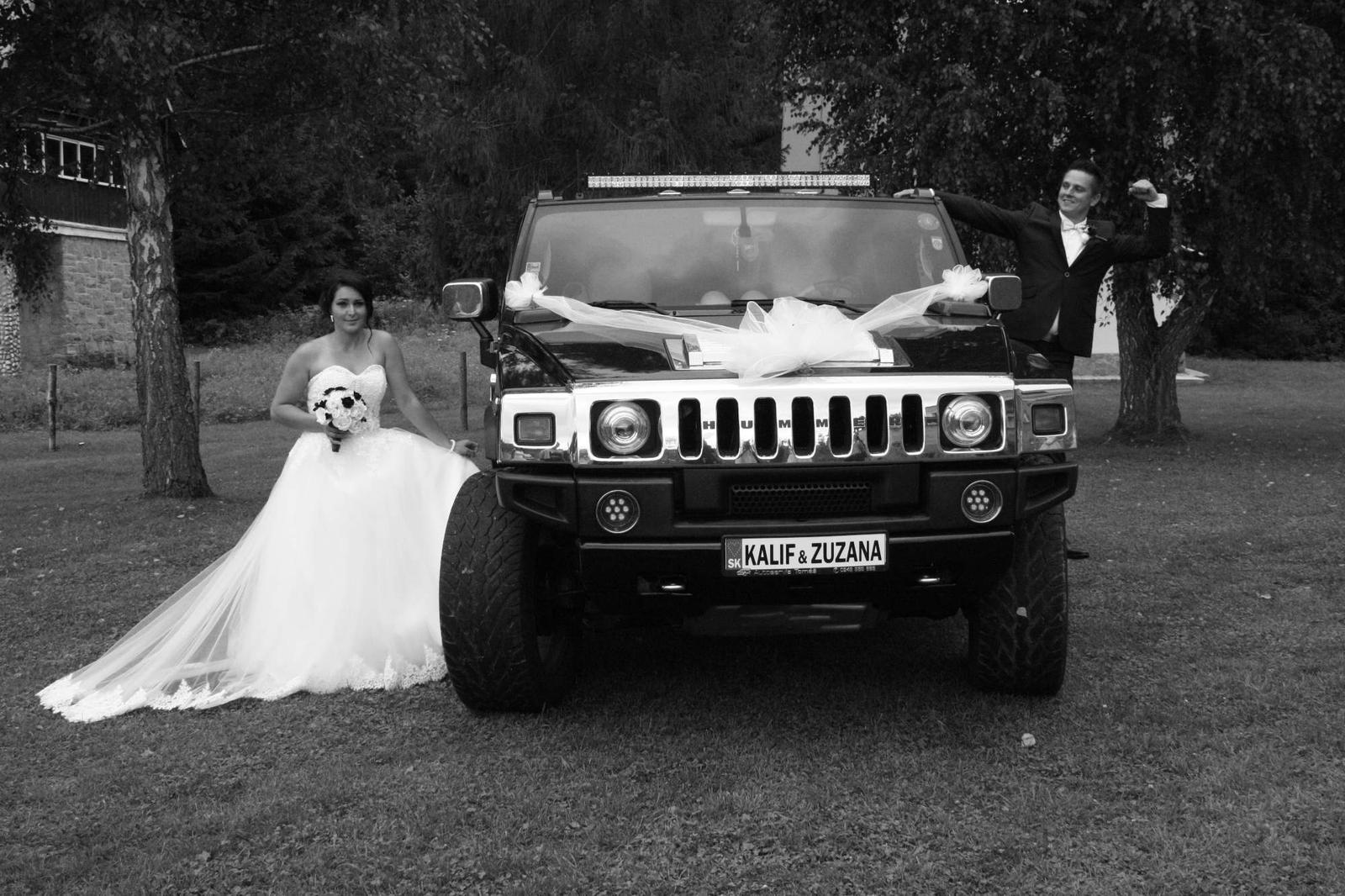 Zuzana{{_AND_}}Kalif - naše vysnívané svadobné auto