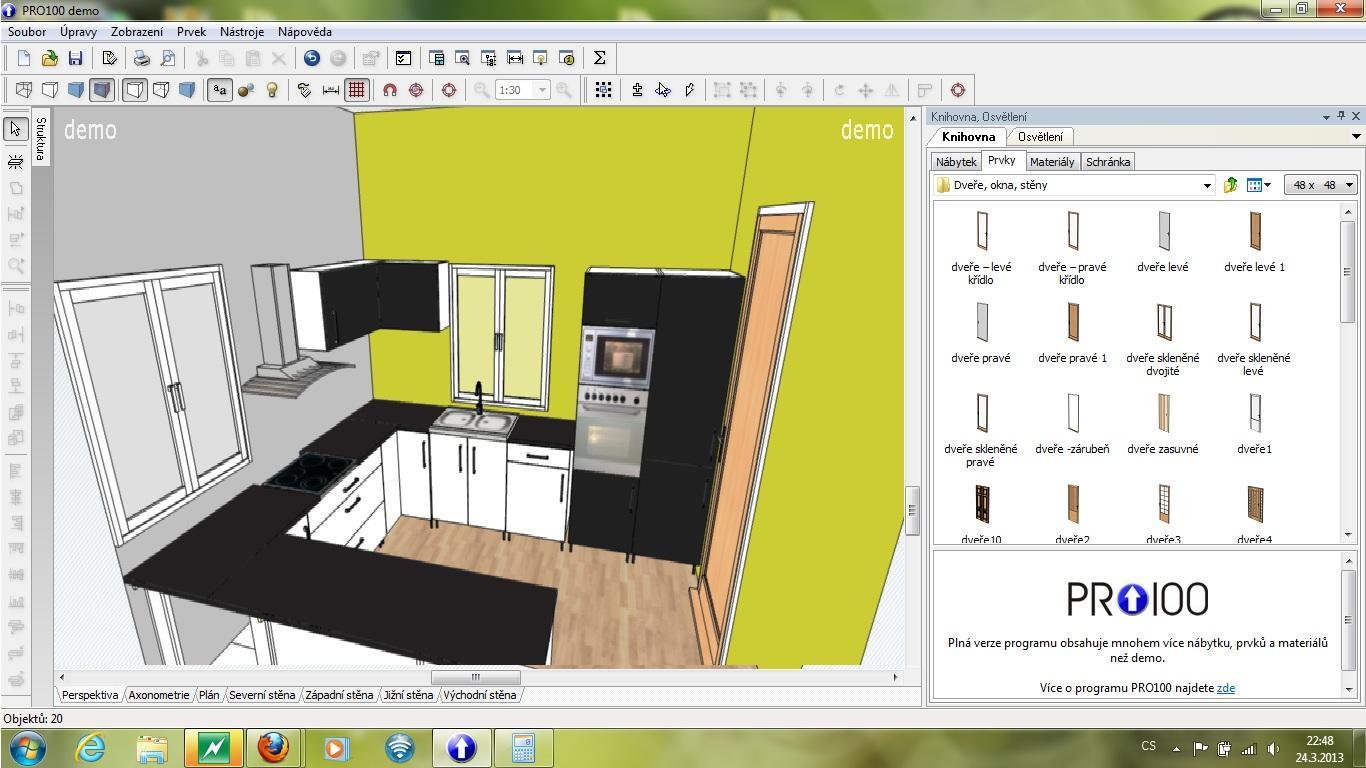 Vybíráme, přemýšlíme, kupujeme :-) - můj amatérský pokus o návrh kuchyňské linky :-)