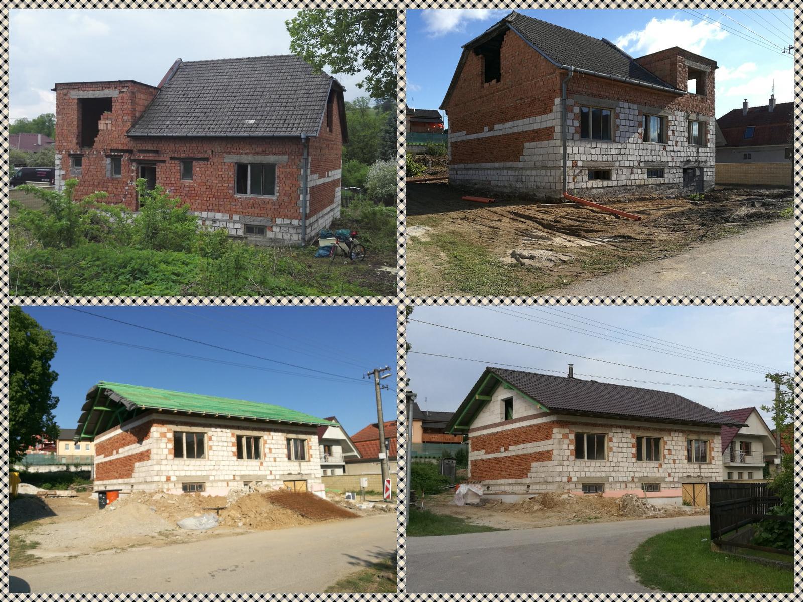 Rekonštrukcia veľmi starej stavby :) - Prvýkrát som si povedala - už to vyzerá ako dom