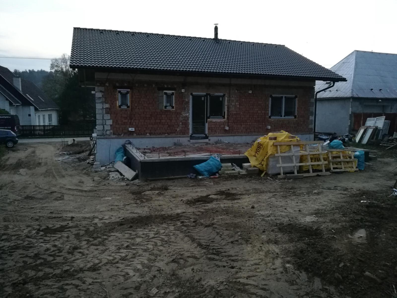 Rekonštrukcia veľmi starej stavby :) - Obrázok č. 31