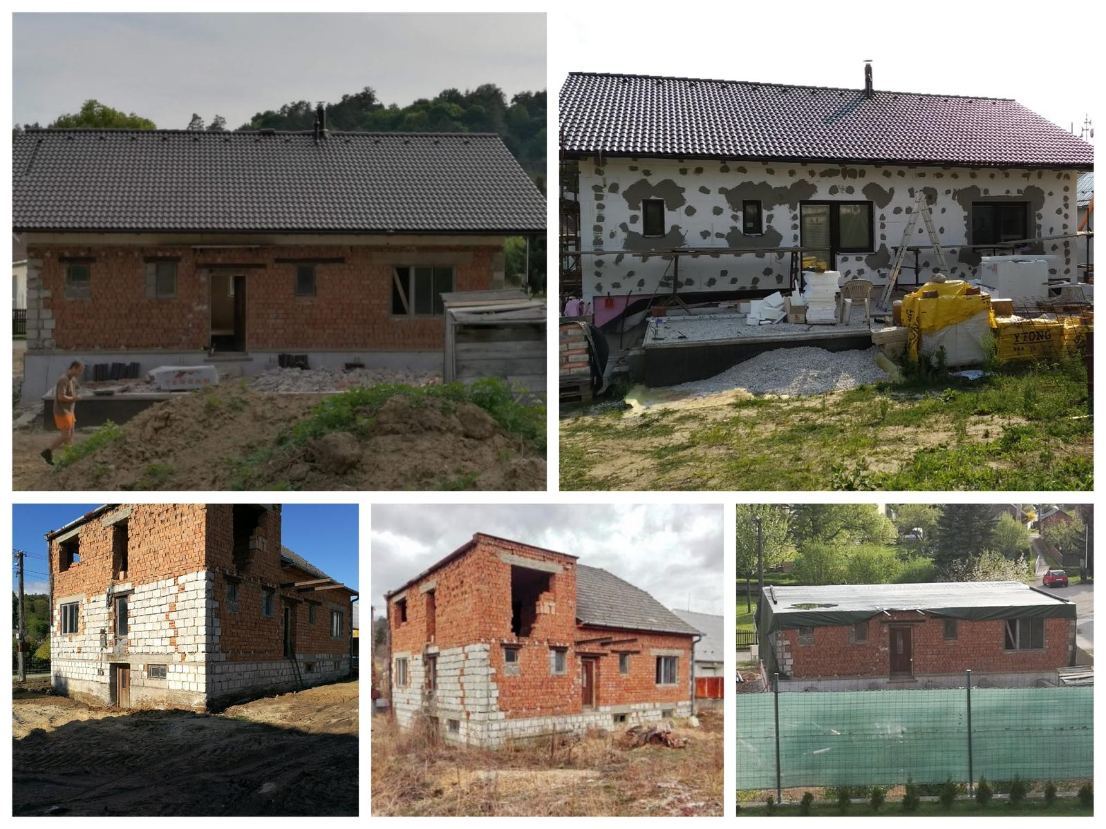 Rekonštrukcia veľmi starej stavby :) - Časozberný snímok - 14 mesiacov, a bývame :)