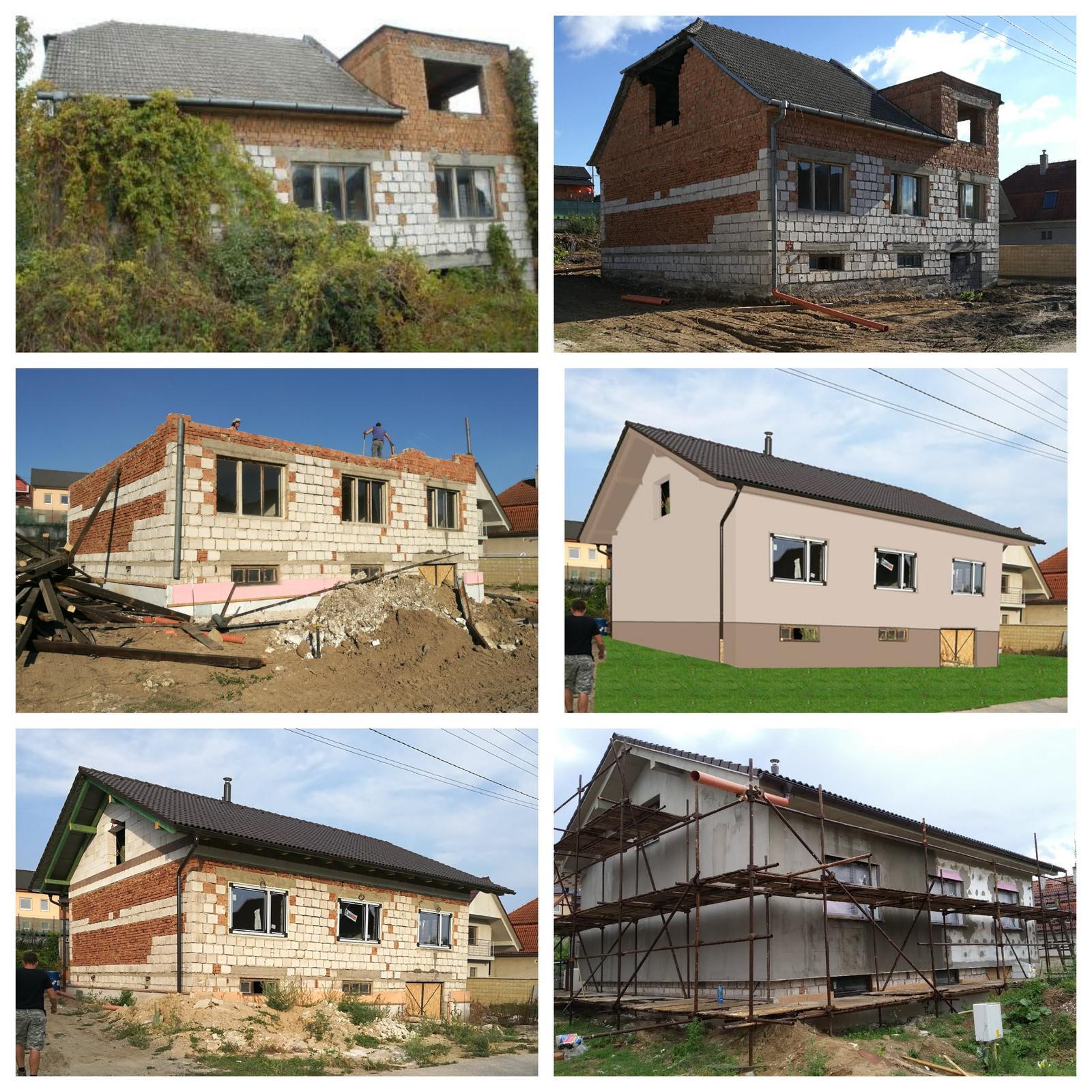 Rekonštrukcia veľmi starej stavby :) - Obrázok č. 42