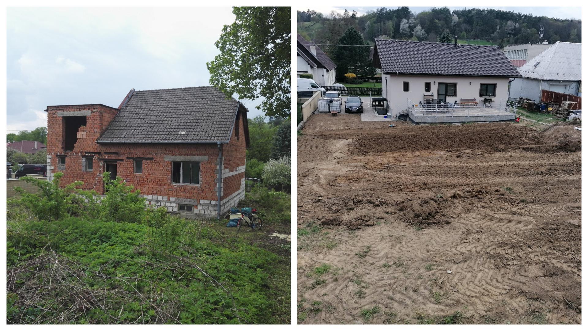 Rekonštrukcia veľmi starej stavby :) - 4 roky, väčšinou svojpomocne, a stále mi príde šialené, čo všetko ešte... :)