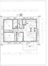 """Staviame s firmou BF stavby projekt ,,X """" s terasou, interiér zmenený na projekt Erika."""