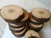 Dřevěné podtácky - kolečka,