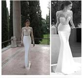Okouzlující Alfred Angelo svatební šaty vel. 36-38, 38