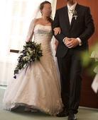 Svatební šaty Primavera velikost 34-38, 36